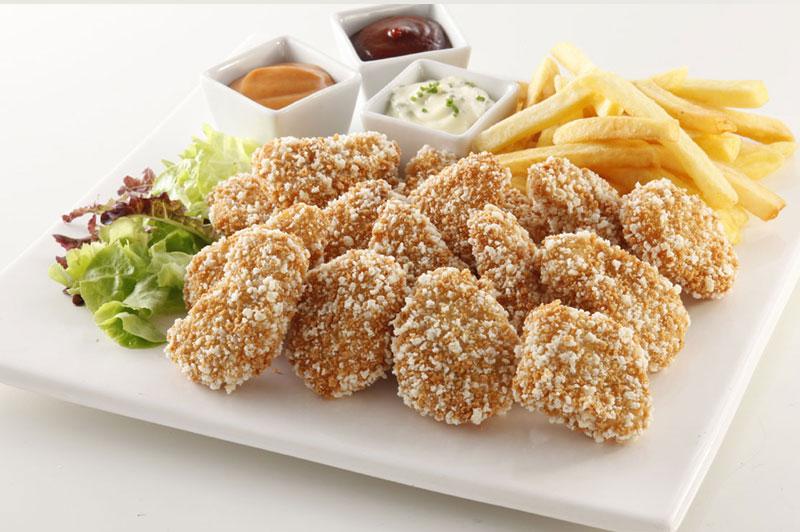 Nuggets de pollo crocantes Congelados artico
