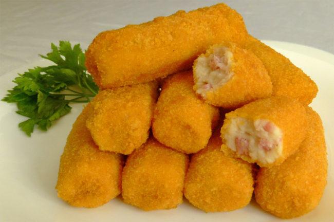 Croqueta-papa-jamon-queso CONGELADOS ARTICO