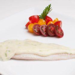 Filet de merluza con crema de queso al verdeo Congelados artico