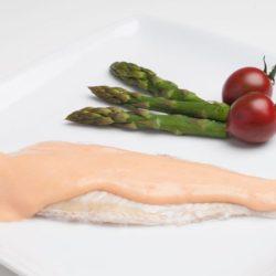 Filet de merluza con crema rosa Congelados artico
