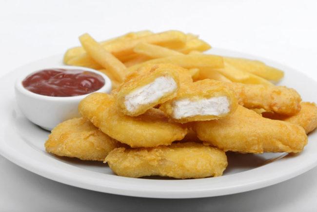 Nuggets de pollo a la Romana Congelados artico
