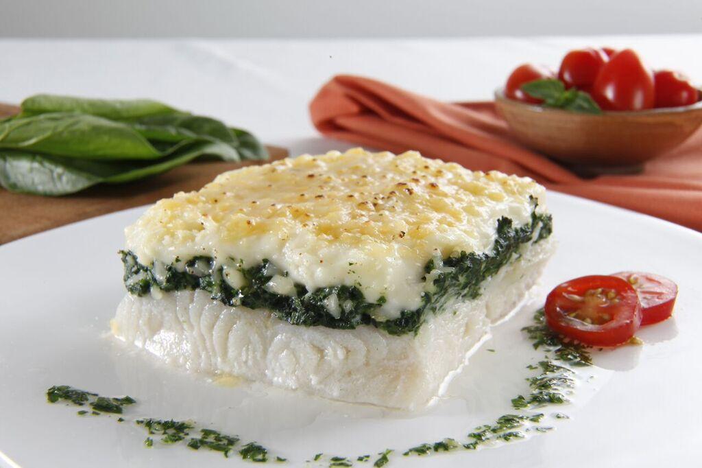 Soufflé de merluza con Espinaca y queso Congelados artico